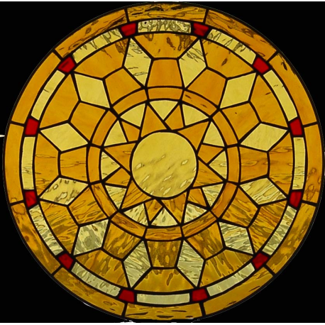 Vidriera Ojos de buey Geometrico Zegri