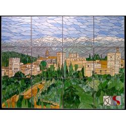 "Vidriera ""Alhambra"""