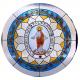 "Vidrieras ""Parroquia de la Divina Pastora de Andujar (Jaén)."""