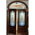 "Vidriera puerta exterior ""Victoriana Lazos 01"""
