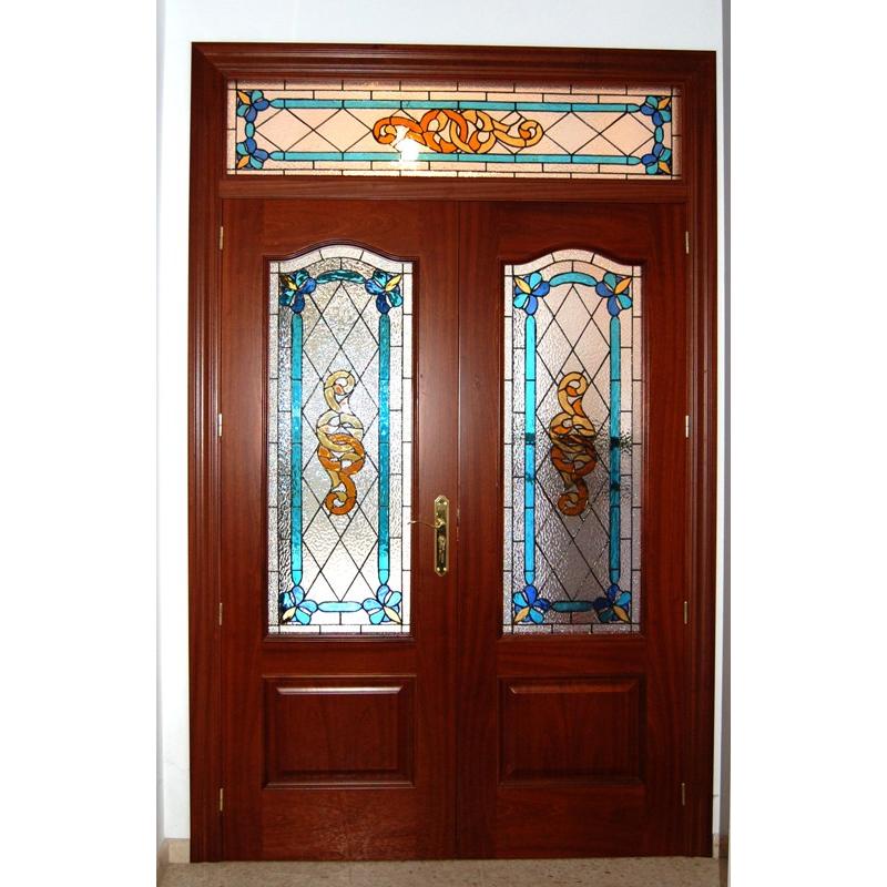 Puertas dobles de interior armazon puerta corredera for Puertas antiguas dobles