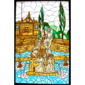 Vidriera Fuente del Rey Priego Córdoba