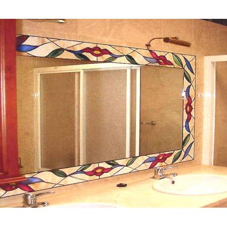 Espejo tiffany baño