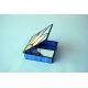 "Caja-joyero ""Concha azul celeste"""