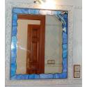 Espejo tiffany baño delfin