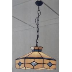 """Lámpara Tiffany de techo """"Rombos"""""""