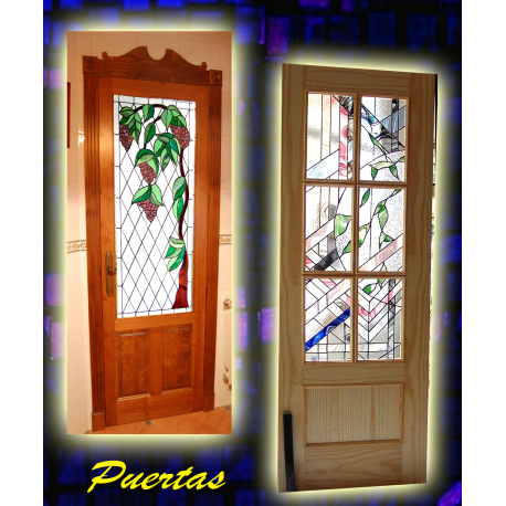 Vidrieras puertas interiores y exteriores