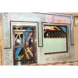 """Vidrieras """"Cafetería S. XXI"""""""