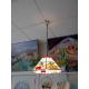 """Lámpara Tiffany de techo """"Frutas"""""""